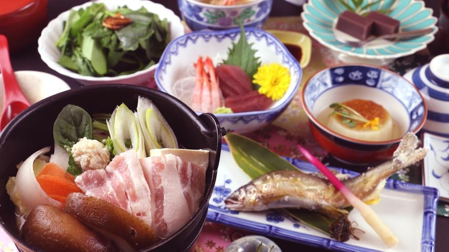【冬季・ご夕食一例】