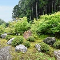 *■和室6畳からの景色■豊かな緑をご覧いただけます。