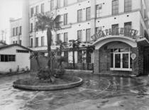 開業当時の芝パークホテル 2018年に開業70周年を迎えます。
