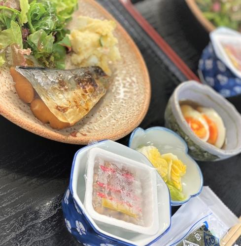 桜粋 朝食