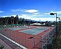 富士山を眺めるテニスコート10面(割引あり)