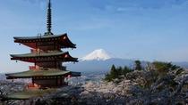 富士と忠霊塔