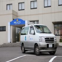 高松空港とホテル間は無料送迎致します。