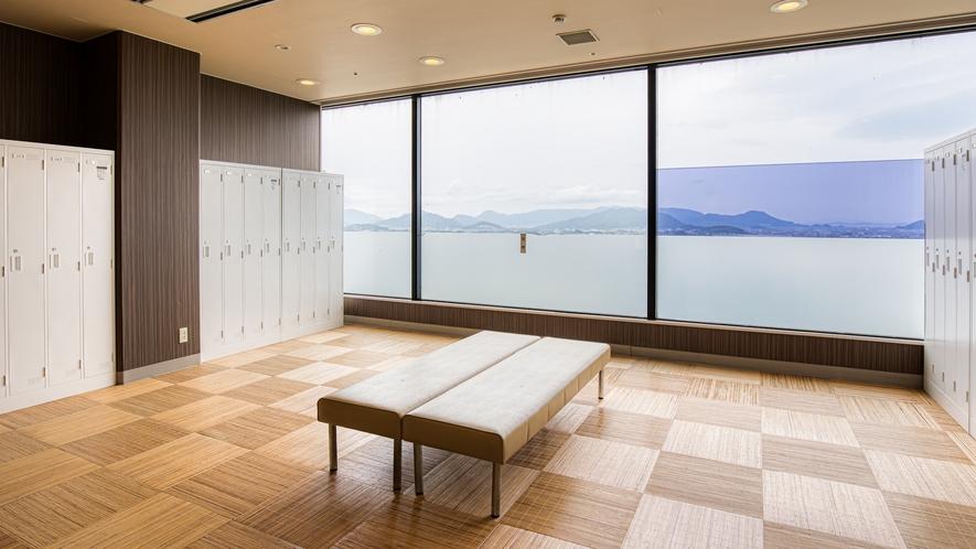 大浴場脱衣所(男湯)