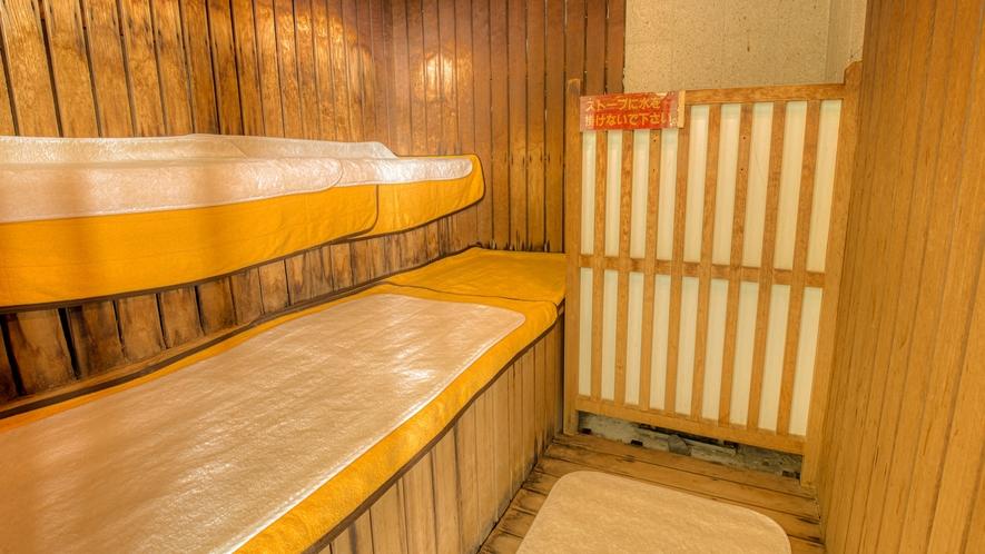大浴場サウナ室