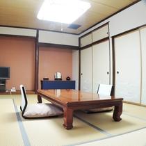 *お部屋一例/和室10畳~18畳の当荘おまかせ※ご利用人数に合わせ、ご案内いたします。