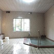 *中浴場一例/天然温泉がいつでも浸かり放題!(通常は女湯ですが、状況により男湯へ変更する場合あり)