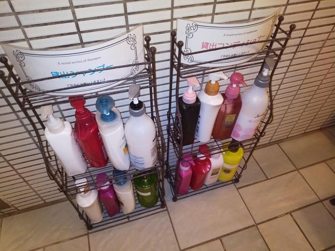 女性用大浴場備え付けシャンプー