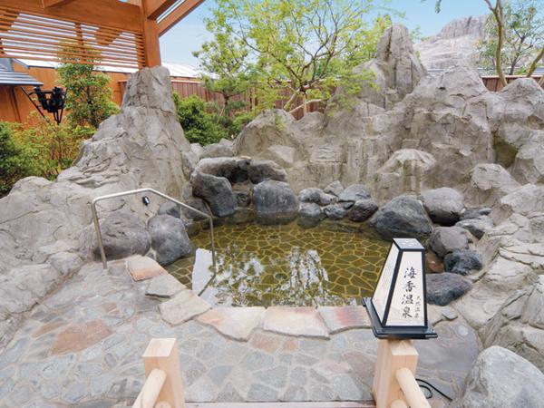 海香温泉(天然温泉):地下1400mから湧き上がる天然温泉がお楽しみいただけます。