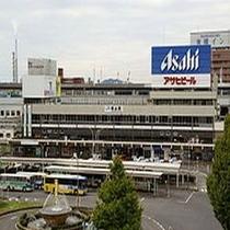 徳山駅(ホテルより徒歩で3分)