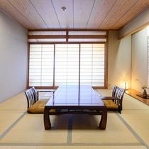 *【低階層のお部屋】落ち着いた純和風客室で贅沢なひと時をお過ごし下さい。