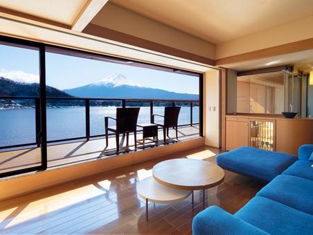露天風呂付特別室 (98平米)【富士山眺望/禁煙】