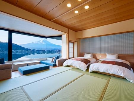 和室ベッド 次の間付き (56平米) 【富士山眺望/禁煙】