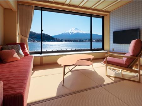和室ベッド (46平米)【富士山眺望/禁煙】