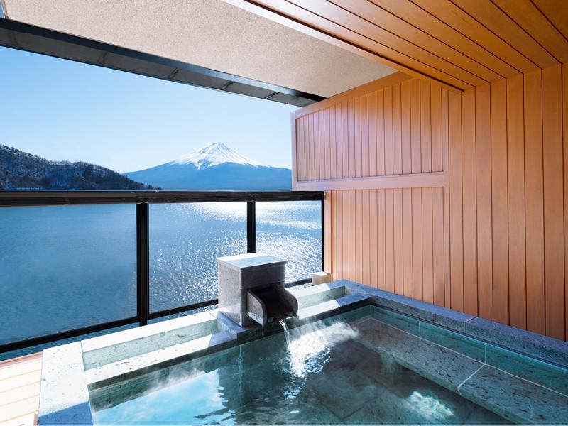 露天風呂付特別室 一例
