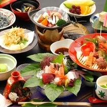 【舞の膳】旬の素材を使用した会席料理(写真はイメージ)