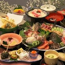 *【旬・刺身盛会席】お食事一例