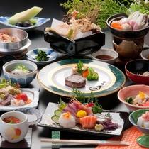 【瑞花会席】秋冬の旬の食材をたっぷり使った贅沢グルメ会席です。