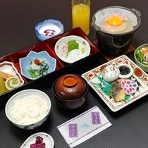 【朝食】のんびり楽しめる朝食一例