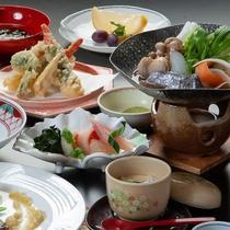 #【初夏C会席】初夏においしい旬の食材を使用したお料理をご用意いたします。