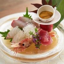 海鮮会席【日本海の幸5点盛り】