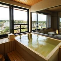 【四季邸いろは】 やまぶき : 和室/リビング/ベッドルーム/半露天風呂付(禁煙)
