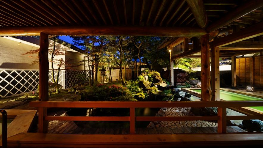 露天風呂_日高石庭の湯