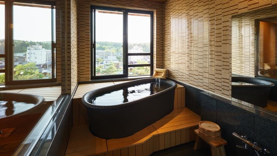 【四季邸いろは】さくら_和室/ベッドルーム/リビング/半露天風呂