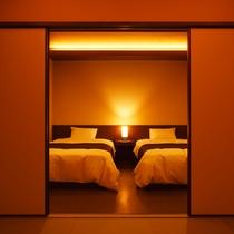 【四季邸いろは】 ゆき : 和室/リビング/ベッドルーム/半露天風呂付(禁煙)