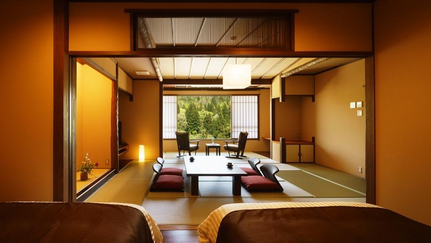 【さつき邸やまのは】しゃくやく_和室/ベッドルーム/リビング/展望風呂