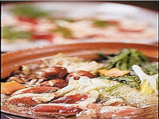 【なべ鍋】鴨鍋か鶏鍋どちらかを選べるプラン♪