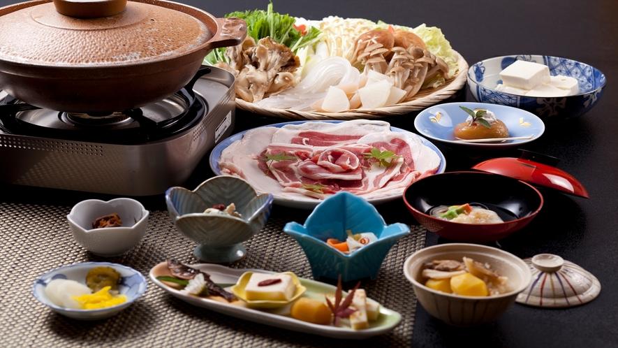 しし鍋(猪肉・ぼたん鍋)