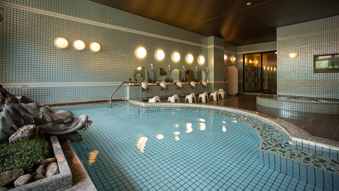 *【大浴場】:美肌、疲労回復に効果がある肌に優しい温泉です。