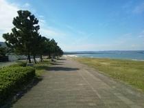 浜崎海岸遊歩道