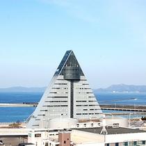 【周辺情報】青森県観光物産館『アスパム』
