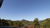 【秋】秋晴れの空