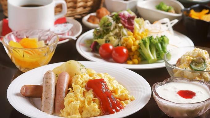 【朝食付】和洋選べる朝食セット!一日の始まりはおいしい朝食から【アパは映画もアニメも見放題】