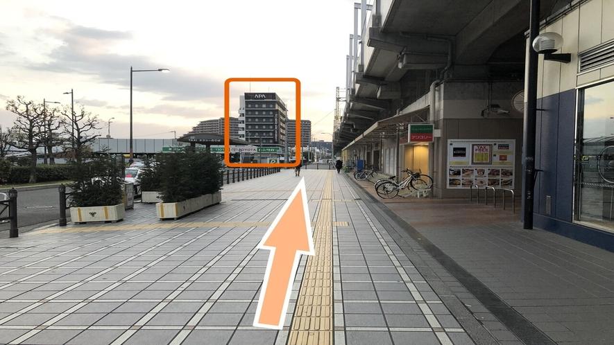 堺駅からの道案内3
