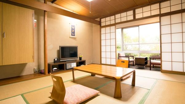 【禁煙】【10畳+広縁 和室】1階
