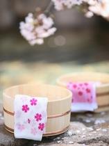 貸切露天風呂「桜・SAKURA」