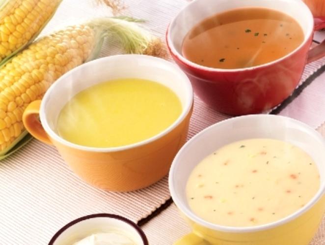 朝食バイキング スープバー