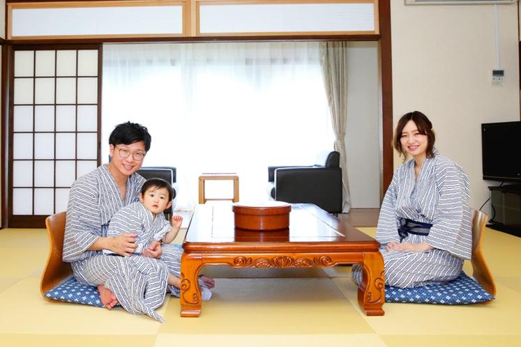家族からビジネス、団体のお客様まで、様々なシーンでご利用いただける和室。