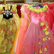お気に入りのドレスを選んで記念撮影♪
