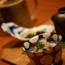 お料理一例<食事・止椀・香物>