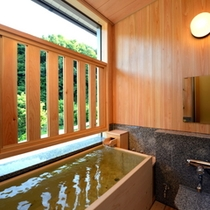 【和室】半露天風呂