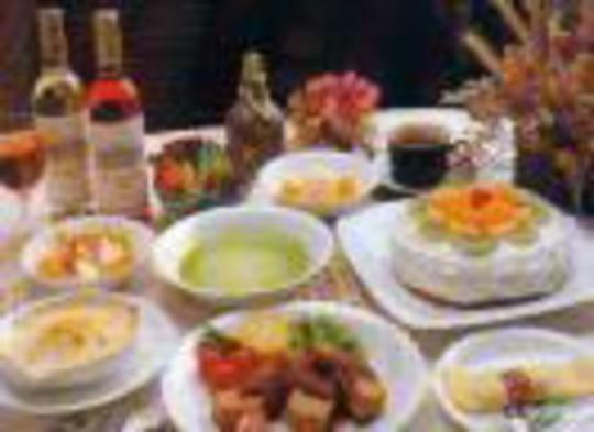 【50歳】【50歳以上】貸切入浴+フルコースディナー+手作りスイーツ【シニア】プラン