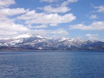 田沢湖(雪)