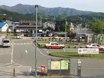 JR田沢湖駅ロータリー