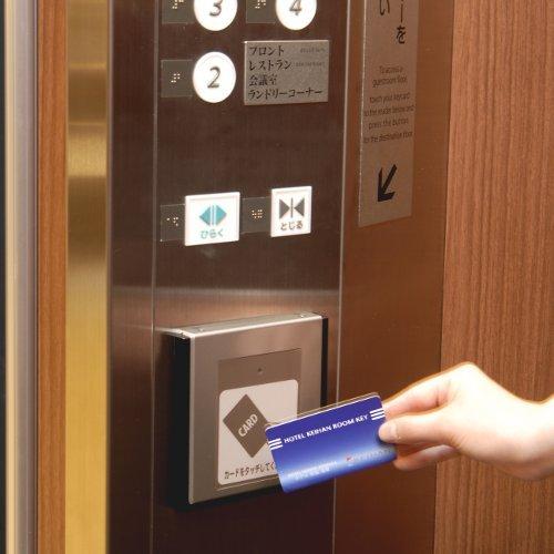 ◇設備◇エレベーター内カードセンサー