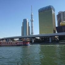 ◇水上バスの景色◇
